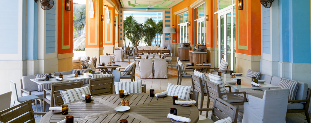 Filia Baha Mar dining room.