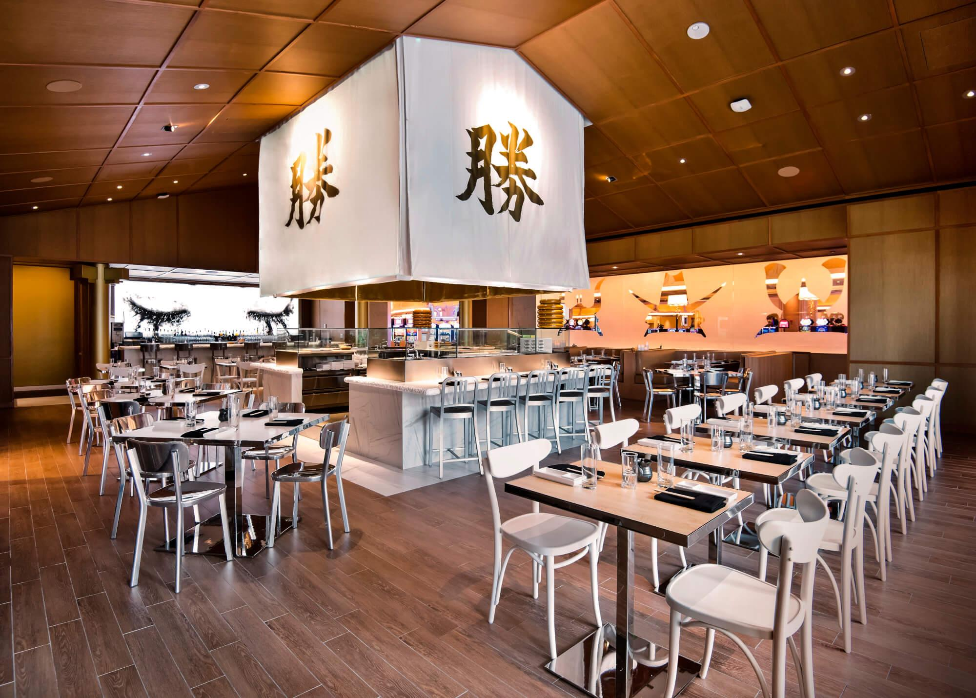 Katsuya Baha Mar dining room.
