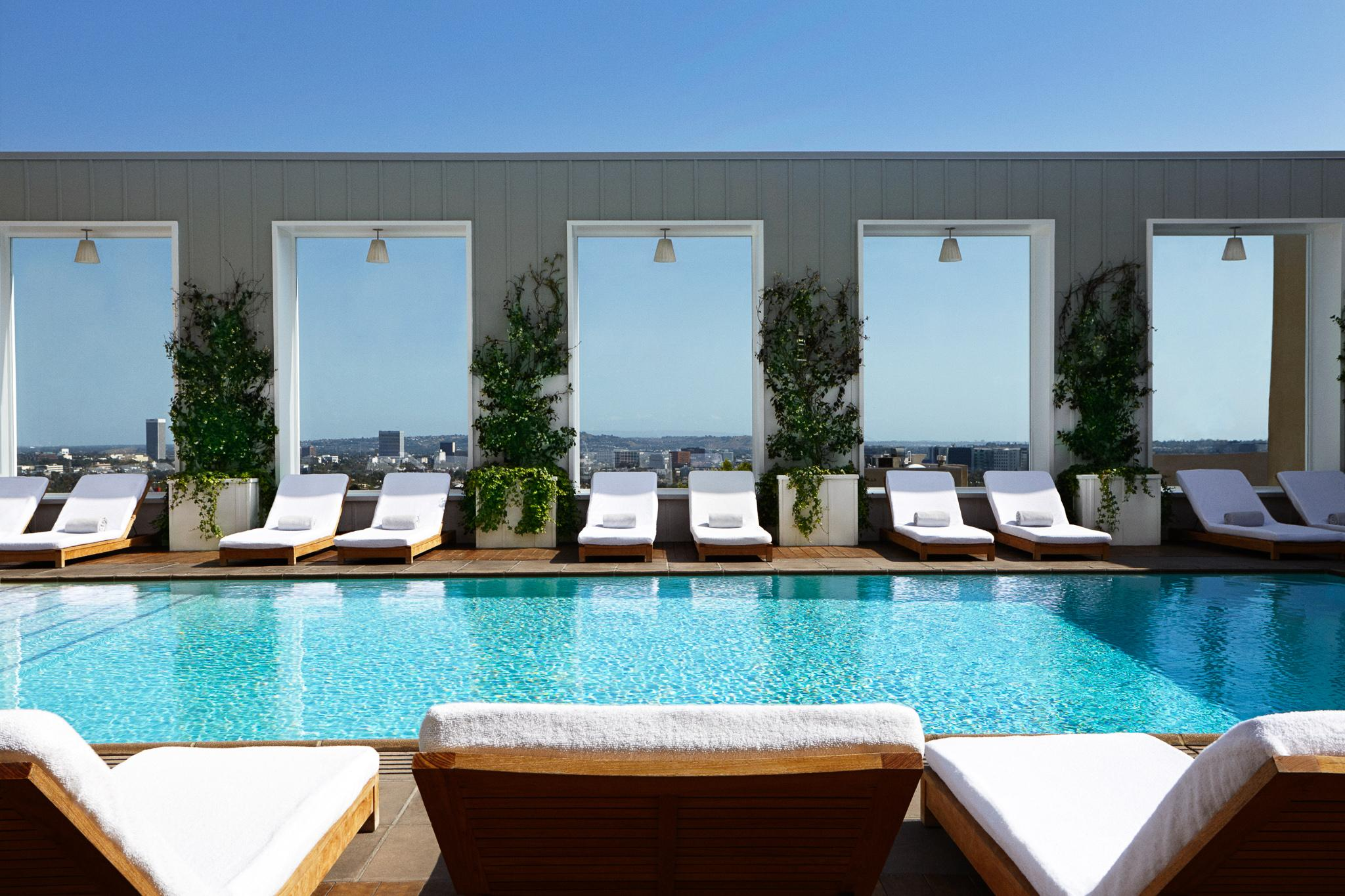Mondrian Los Angeles Pool