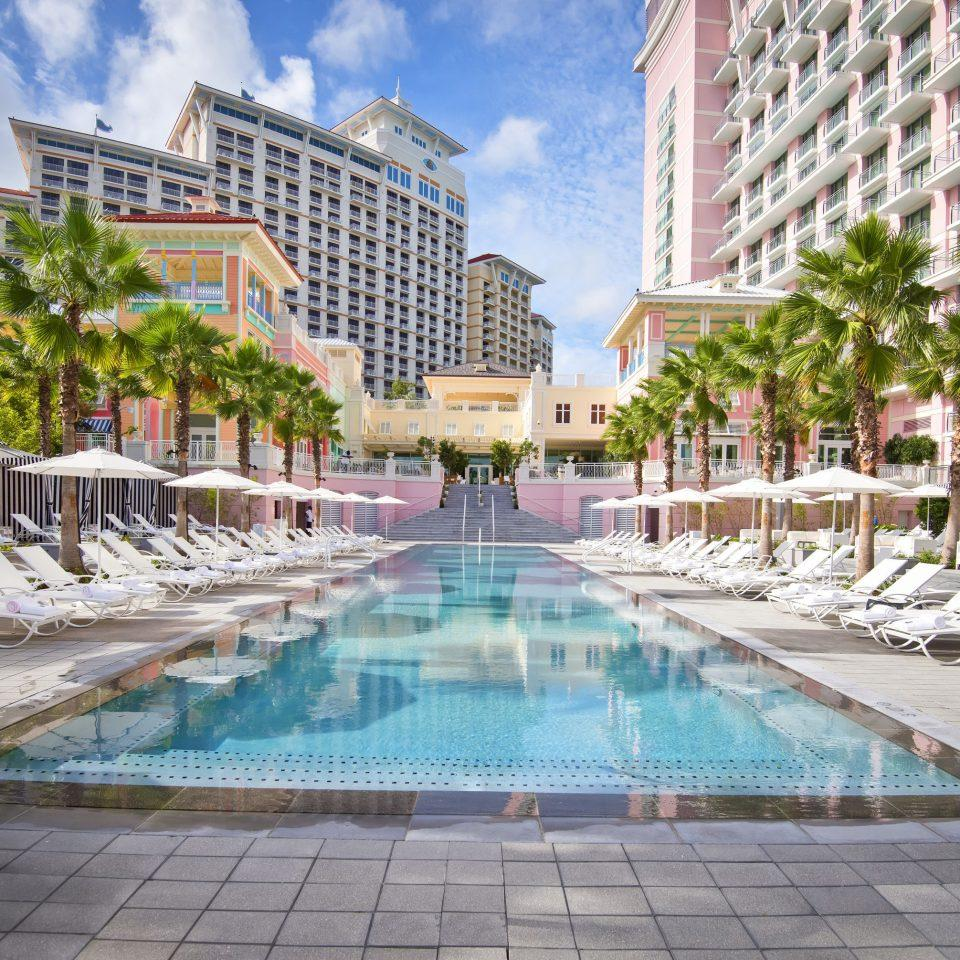 SLS Baha Mar pool and lounge chairs.