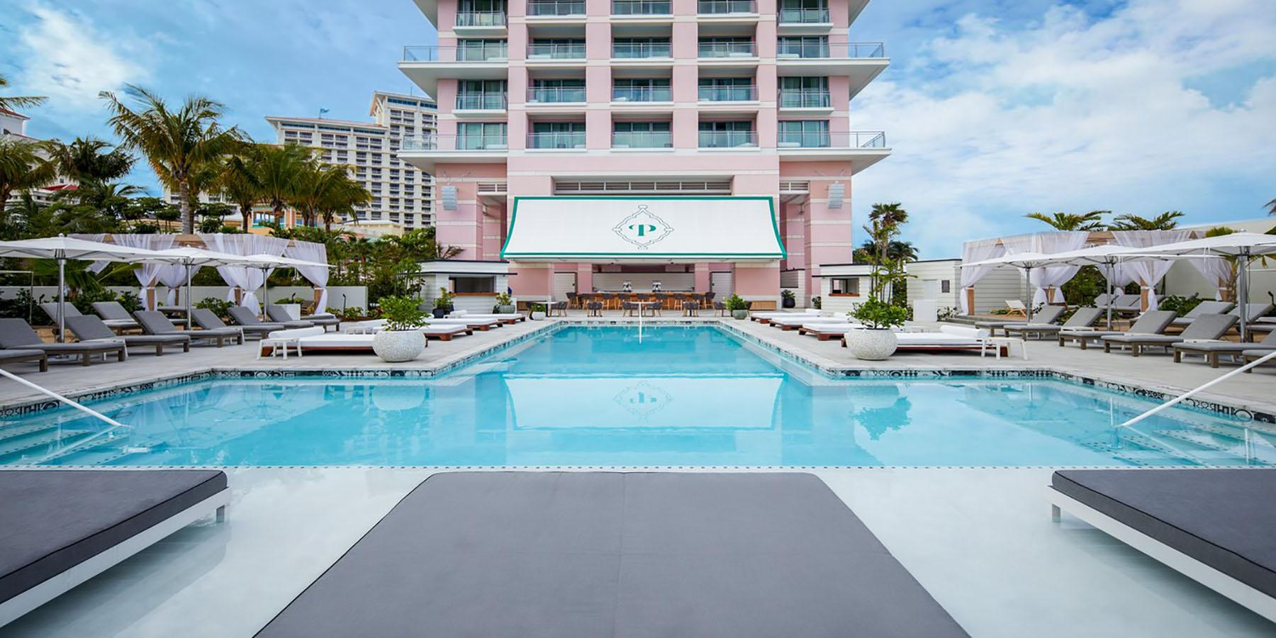 Privilege pool at SLS Baha Mar