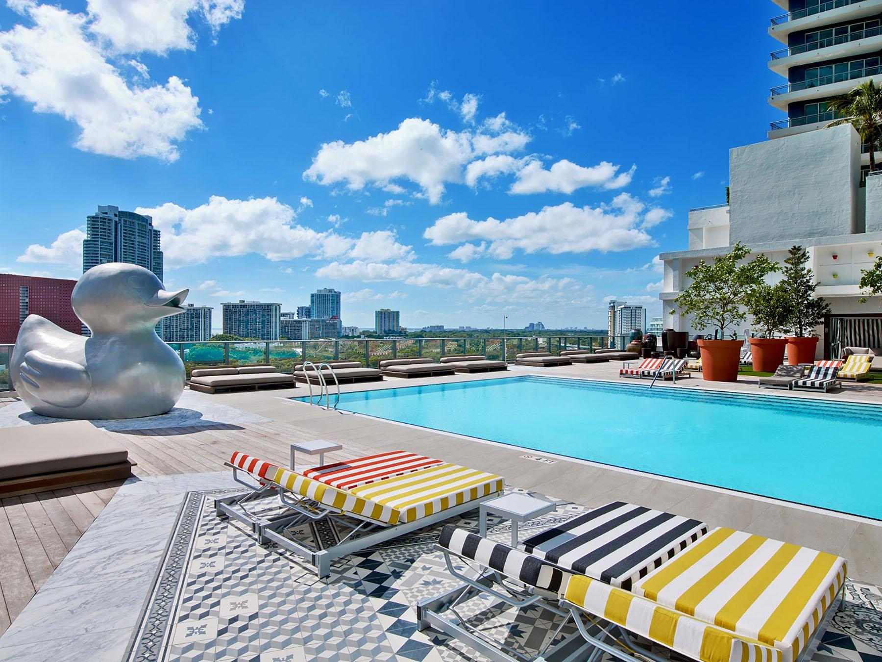 Pool at Altitude Brickell