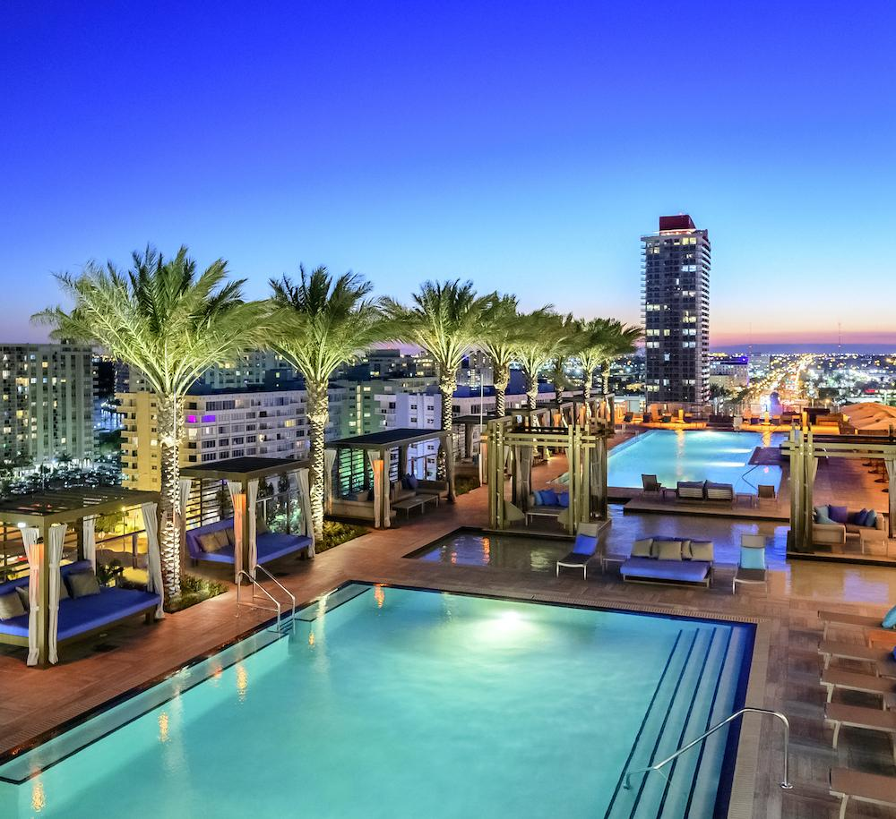 hyde-hollywood-aerial-pool-view
