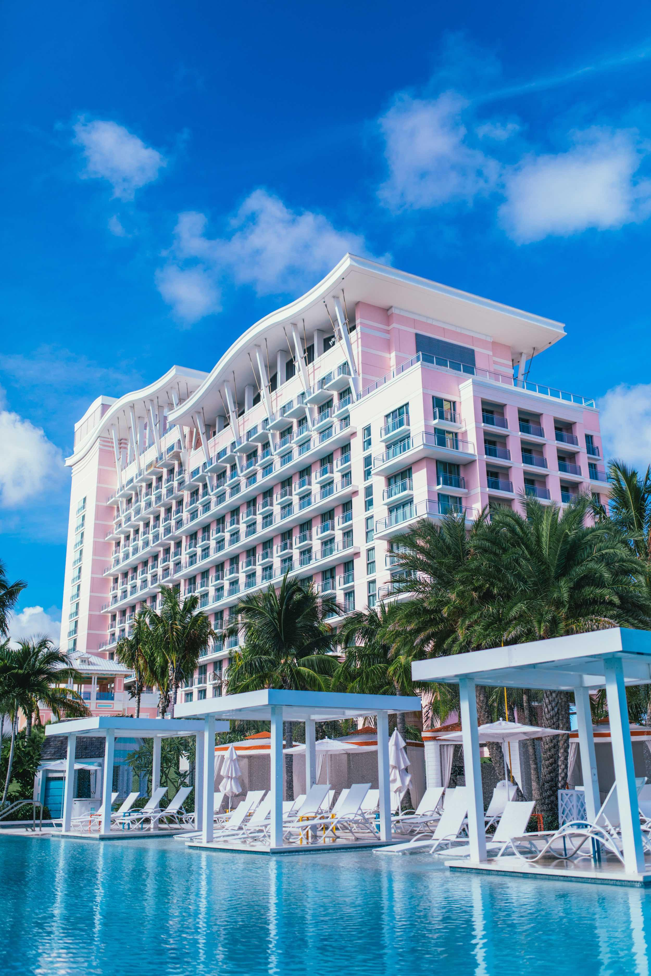 SLS Baha Mar exterior and pool