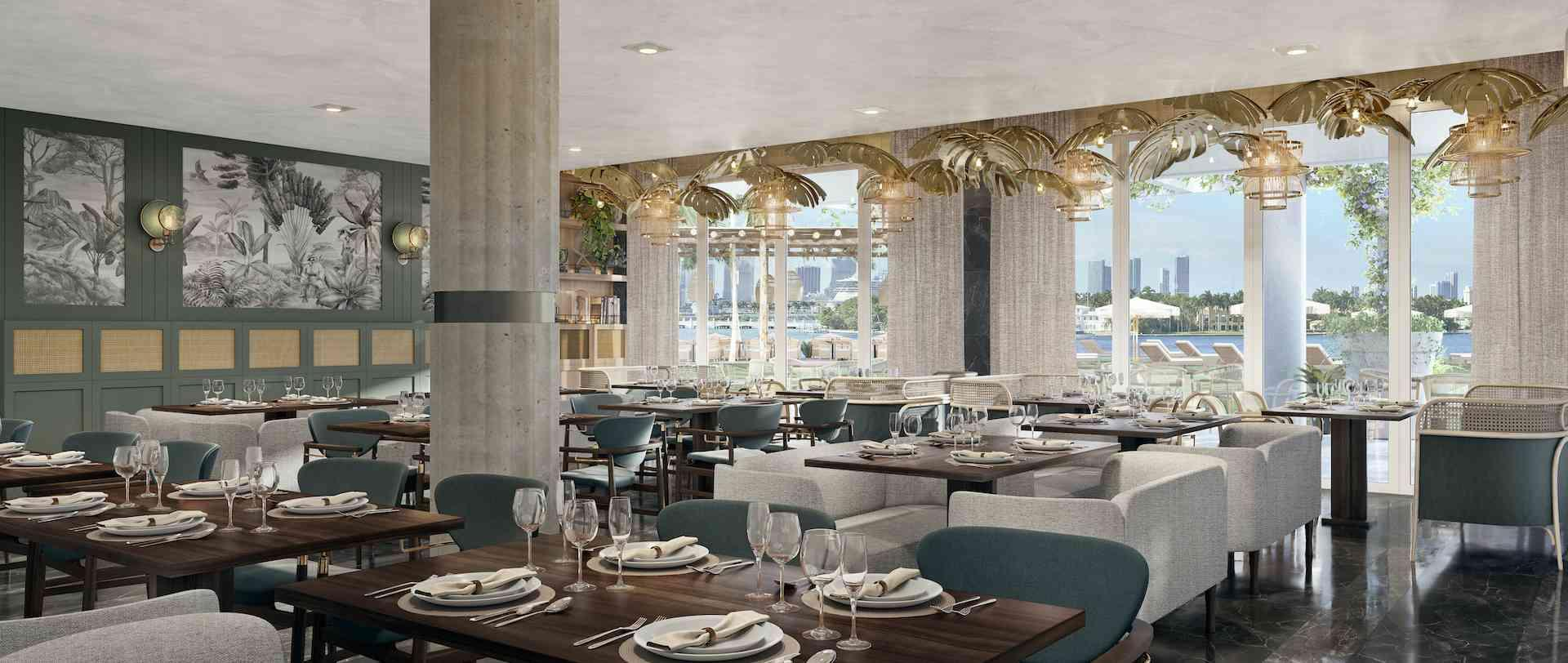 Mondrian South Beach Dining