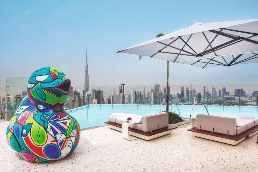 SLS Dubai Pool