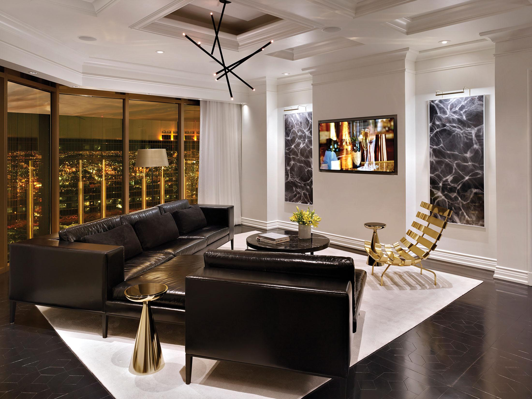 Delano Las Vegas loft room living area