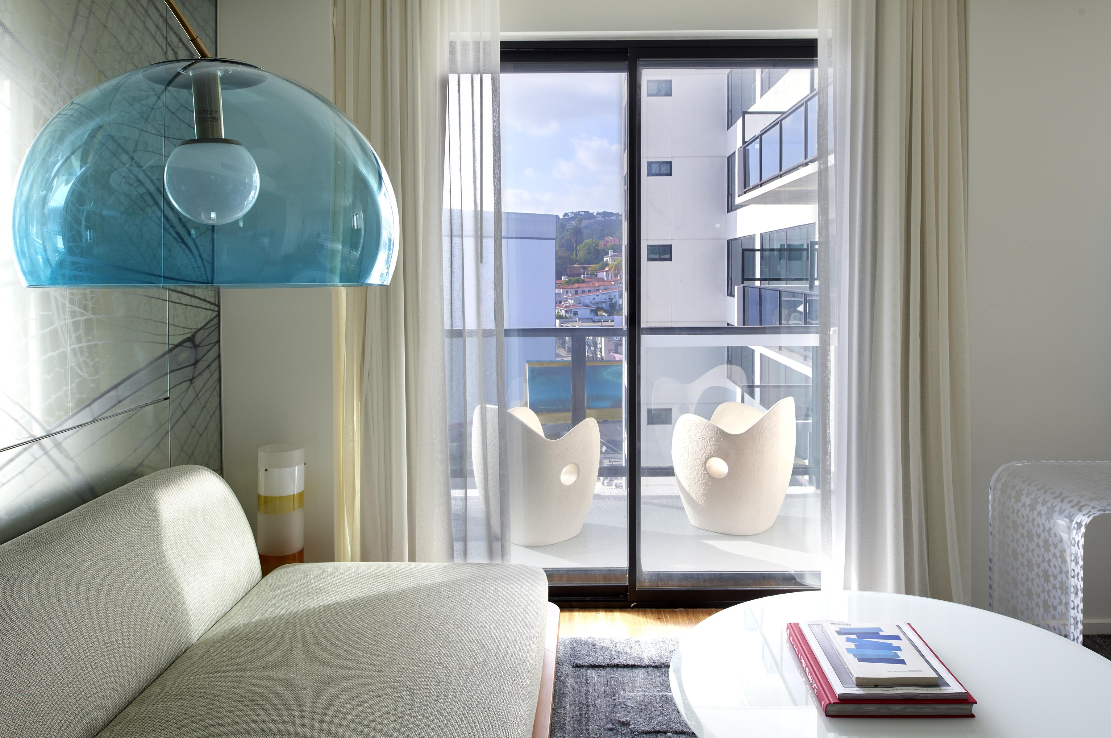 Mondrian Los Angeles Balcony Suite
