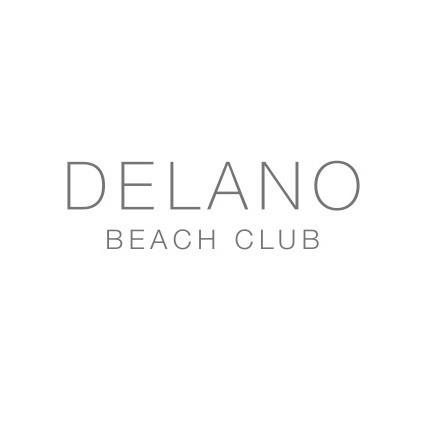 delano beach club logo